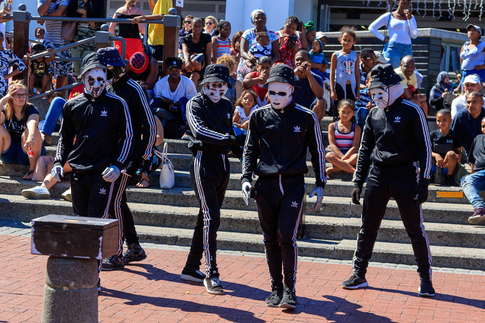 Optredens in Waterfront | Kaapstad, Zuid-Afrika, 2 december 2018