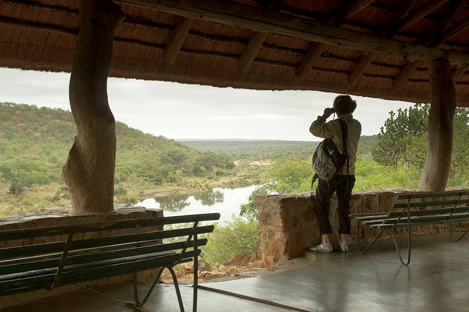 Uitzicht Orpen dam| Krugerpark, Lower Sabie restcamp – 19 november 2014