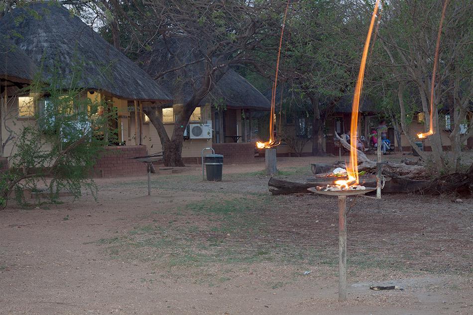 Lekker braaien | Krugerpark, Satara restcamp – 20 november 2014