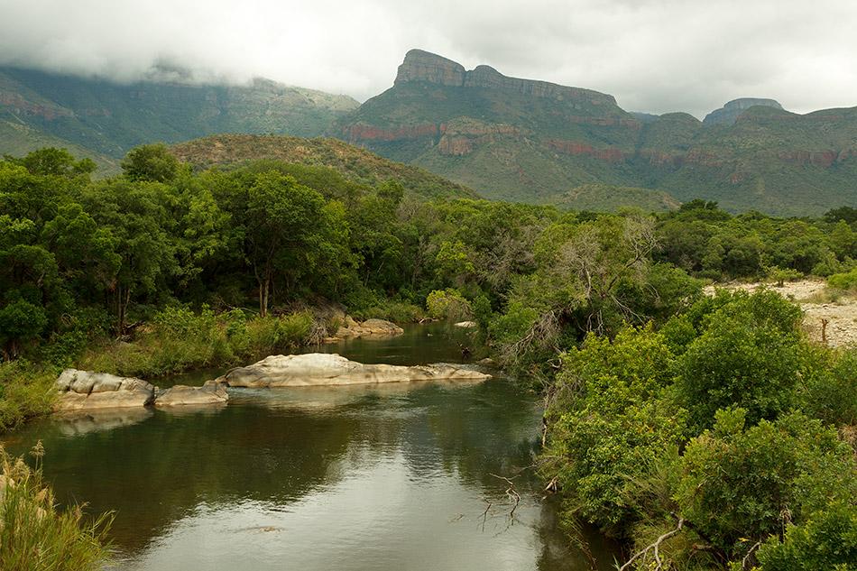 Achterkant 3 Rondavels   Graskop, Blyde River Canyon – 15 november 2014