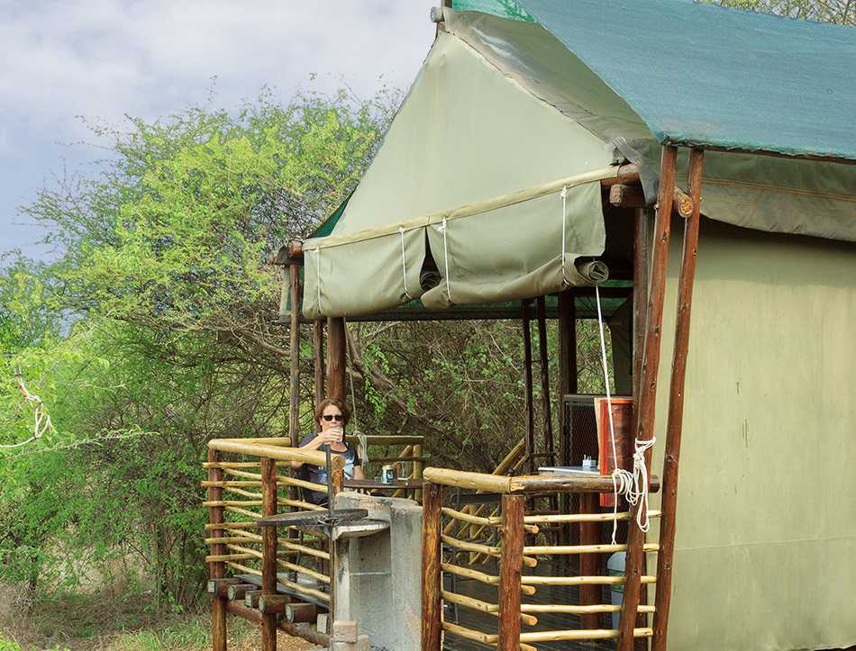 Onze safaritent | Krugerpark, Lower Sabie restcamp – 19 november 2014