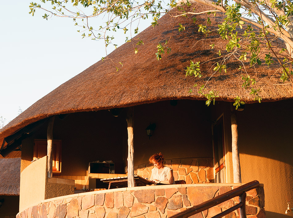 Onze accomodatie | Krugerpark, Olifants restcamp – 23 november 2014