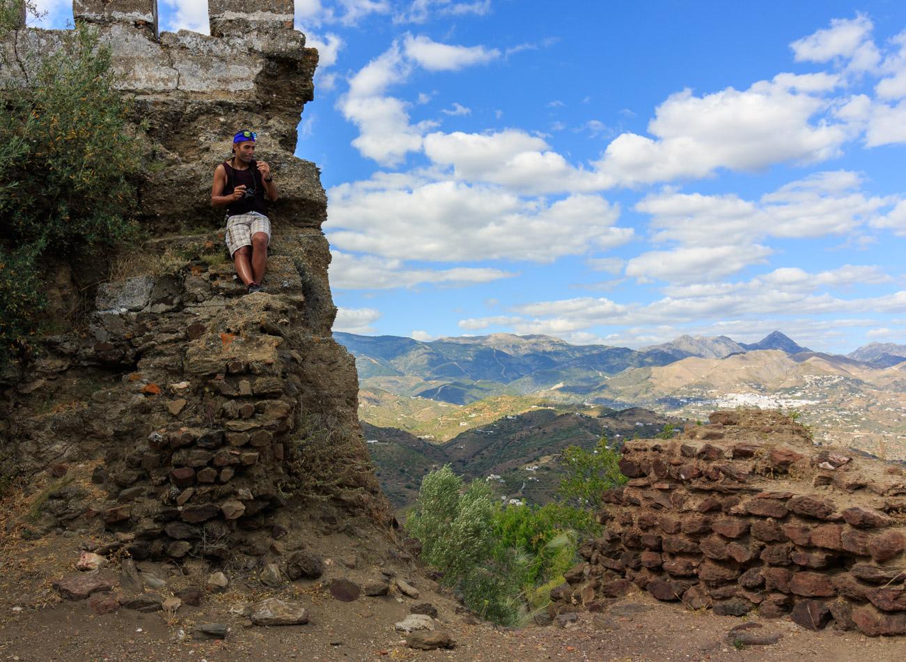 Castillo de Bentomiz | Spanje, Arenas, 16 juni 2016