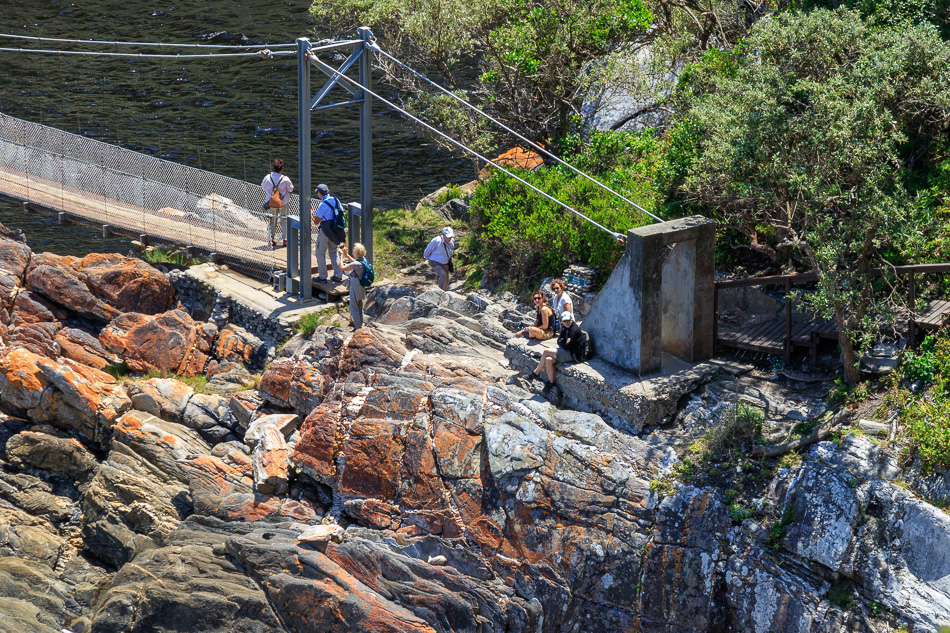 Storms River Hangbrug | Tsitsikamma National Park, Zuid-Afrika, 24 december 2018