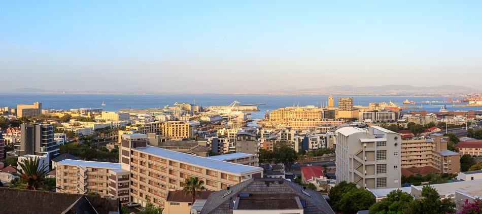 Uitzicht vanaf ons balkon | Kaapstad, Zuid-Afrika, 30 december 2018