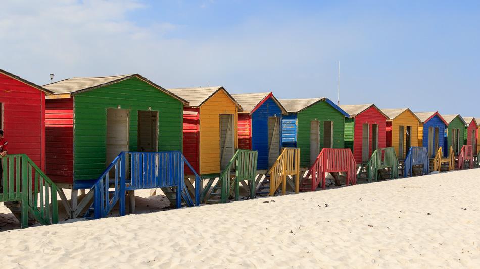 Strandhuisjes | Muizenberg, Zuid-Afrika, 1 december 2018
