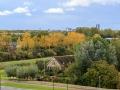 Uitzicht vanaf ons balkon | 10 oktober 2016