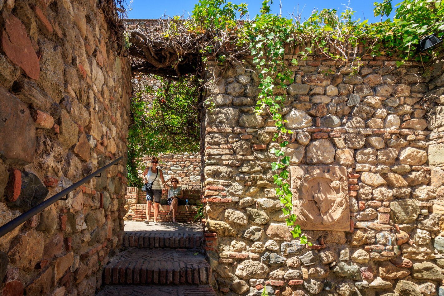 Alcazaba | Spanje, Málaga, 15 juni 2016