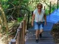 400 trappen heen en nog een terug....afzien! | Tsitsikamma National Park, Zuid-Afrika, 24 december 2018
