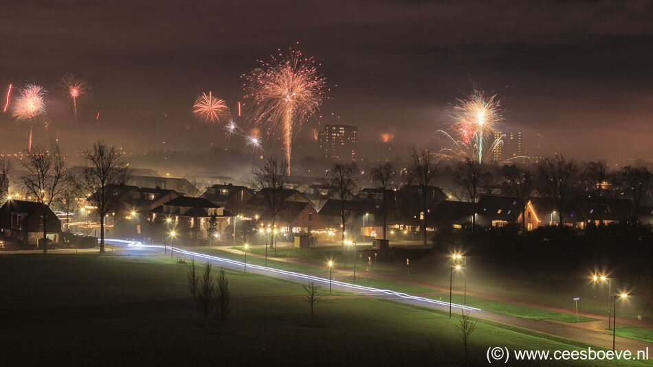 Nieuwjaarswisseling 2020-2021 | Nesselande, 1 januari 2021