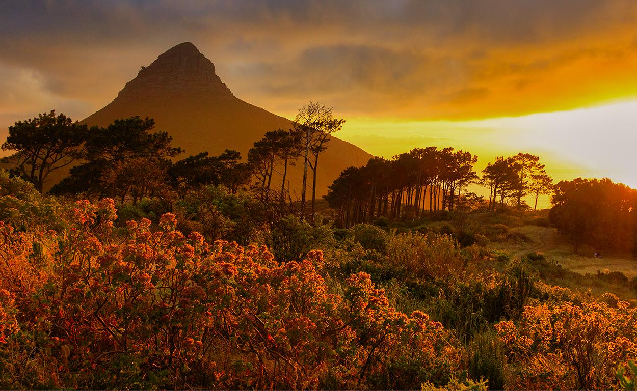 Permalink to: Zonsondergang vanaf Signal Hill (Kaapstad)
